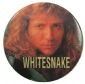 Whitesnake - 'Dave Close Up' Button Badge